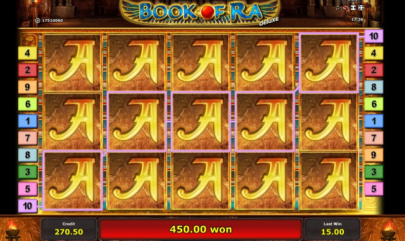 Nice Win at Book of RA