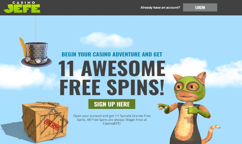 Get the Free Spins Here