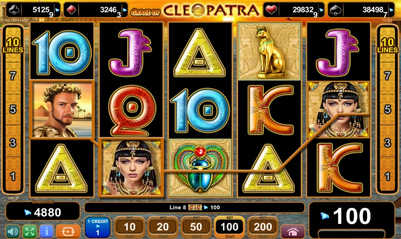 Free Spins at Cleopatra
